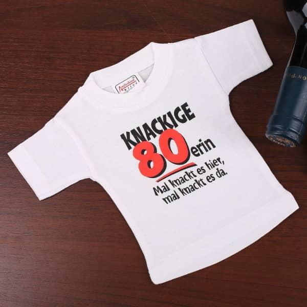 T-Shirt Flaschenverpackung 80