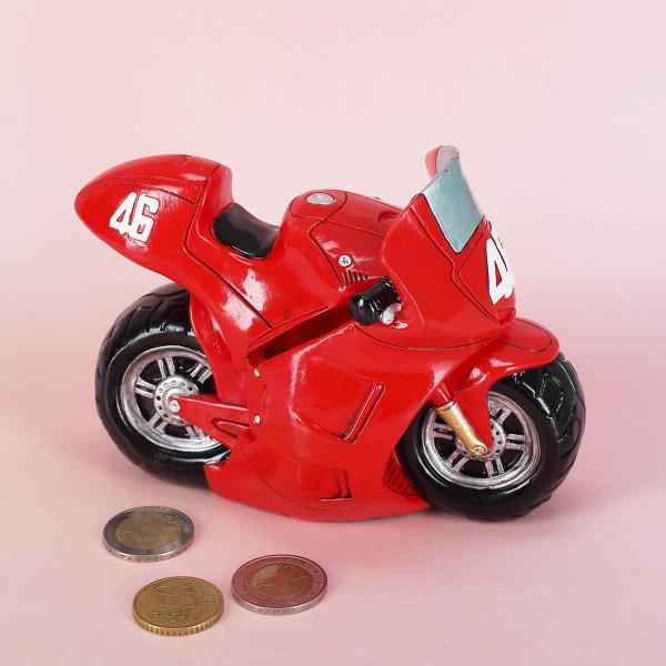 Spardose Motorrad