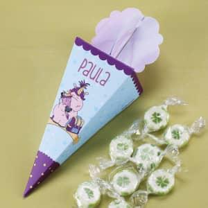 Mini Zuckertüte mit Name personalisiert