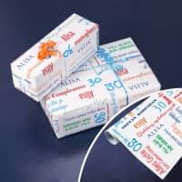 Geschenkpapier zum Geburtstag mit Name und Alter