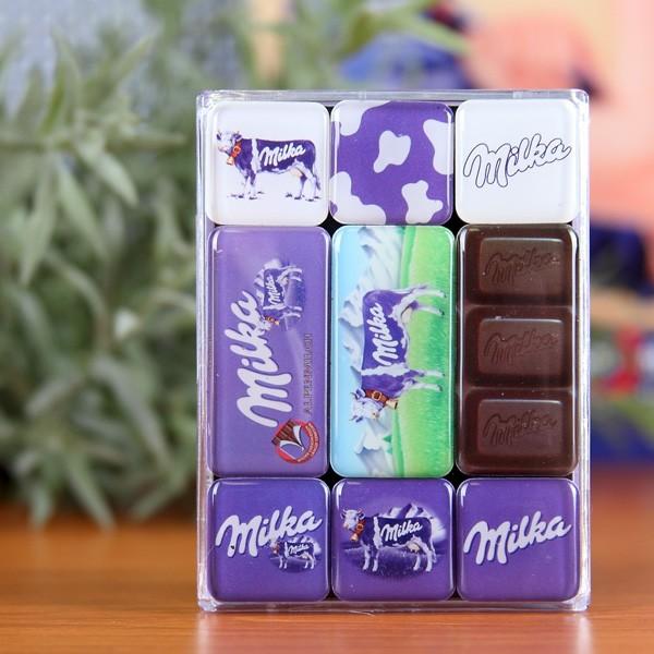 9er Set Magnete von Milka