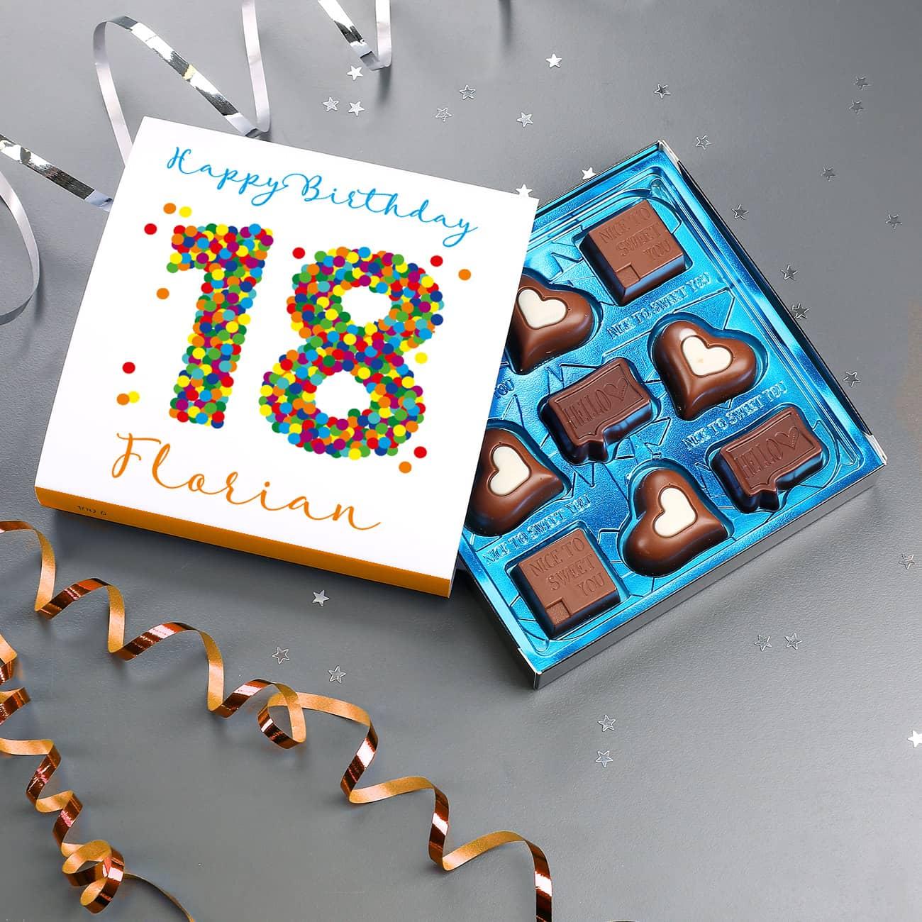 Bastelideen Zum 18. Geburtstag