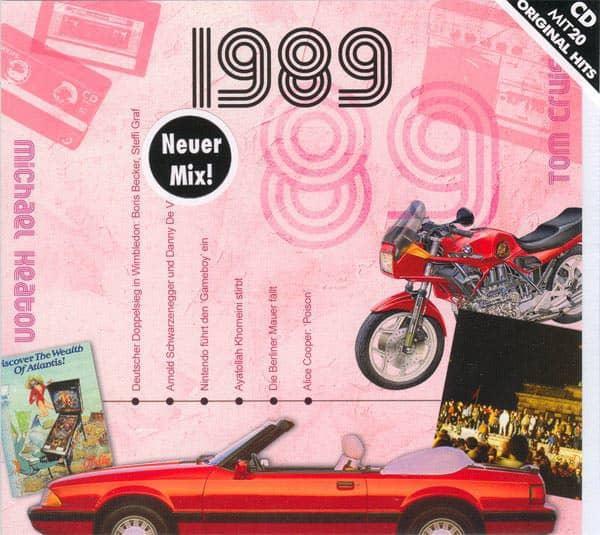 20 Original Chart Hits aus dem Jahr 1989