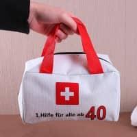 1. Hilfe Tasche zum 40. Geburtstag