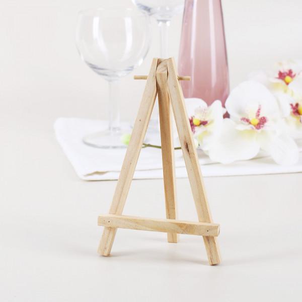 Mini Staffelei aus Holz