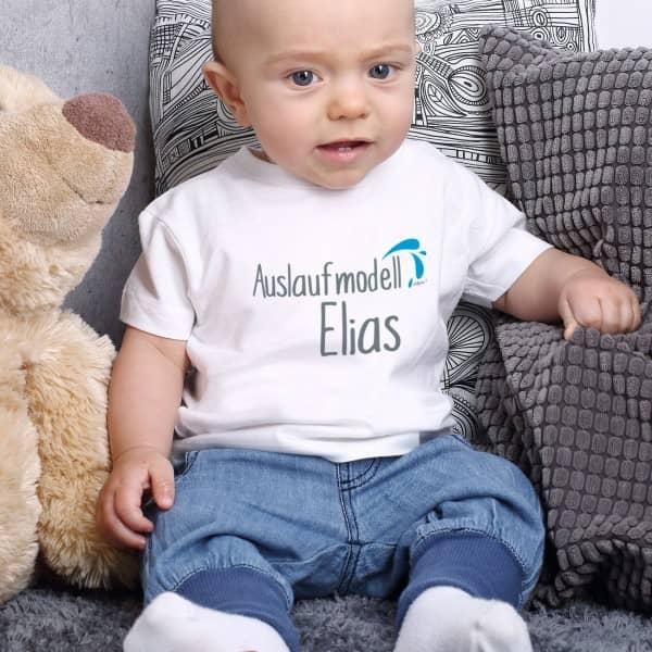 Babyshirt Auslaufmodell mit Wunschname