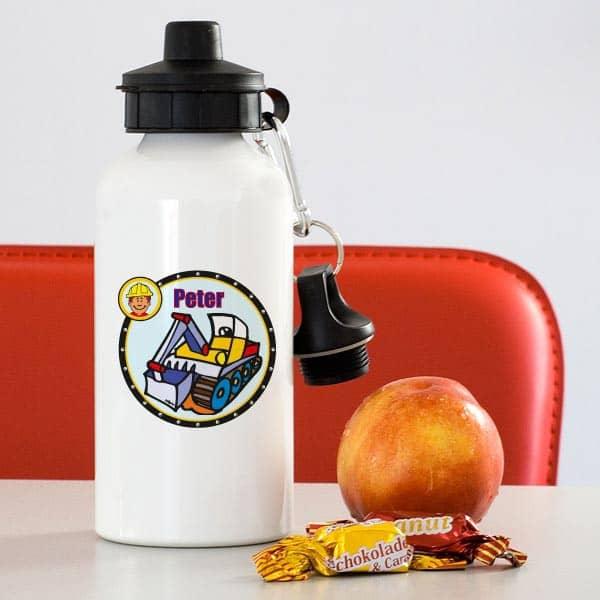 Trinkflasche - Bunter Bagger