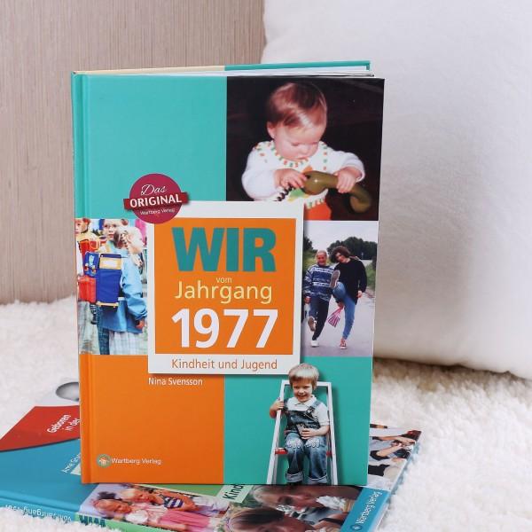 Jahrgangsbuch 1977 Kindheit und Jugend