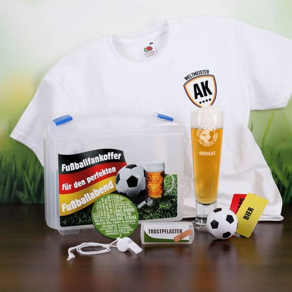 komplettes Set für den Fussballfan