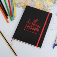 Notizbuch Lieblings... mit Ihrer Wunschtext-Gravur
