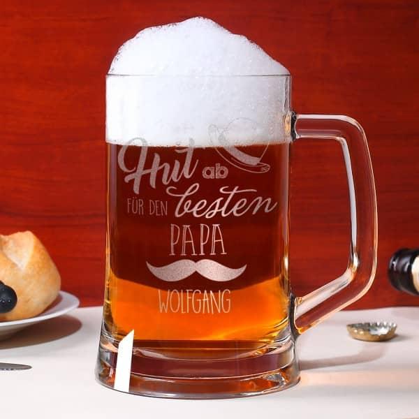 Bierseidel für den besten Papa