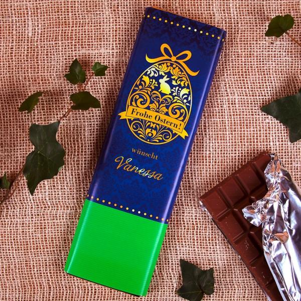 300g Osterschokolade in edler Verpackung