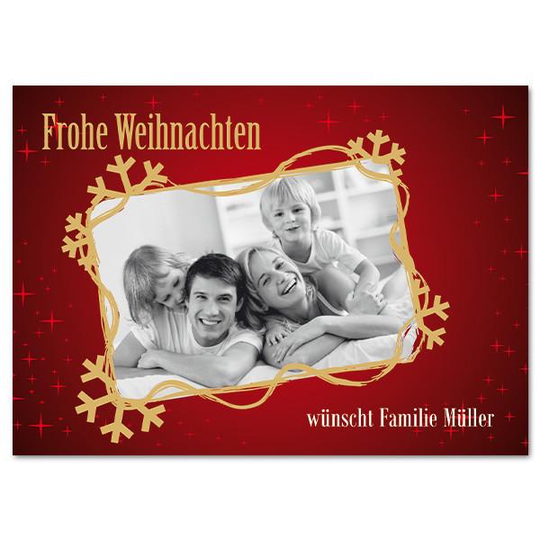Postkarte mit Ihren Foto und Wunschtext