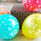 5 Luftballons zum 70. Geburtstag