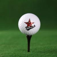 3er Set Golfbälle Old School mit Name