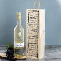 Maybach Weißwein in bedruckter Weinverpackung mit Ihrem Wunschnamen
