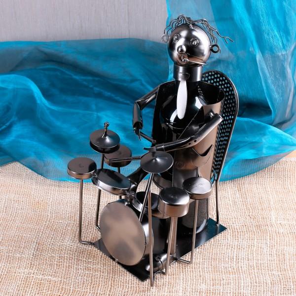 Flaschenhalter aus Metall Schlagzeuger