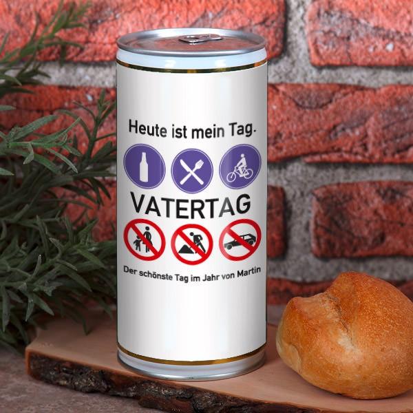 Vatertagsbier 1 Liter Bierbüchse