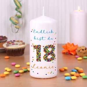 Kerzen Online Gestalten.Bedruckte Kerzen Taufe Hochzeit Geburtstag Anlass