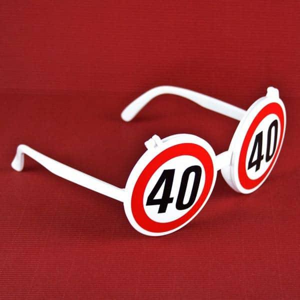 Sonnenbrille zum 40. Geburtstag