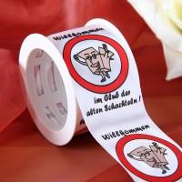 Satin-Geschenkband Alte Schachtel