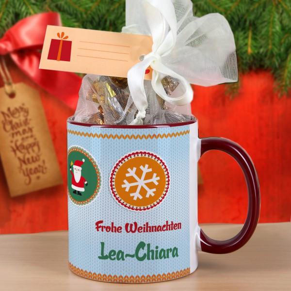 Geschenk-Set zum Weihnachtsfest