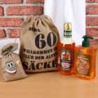 Geschenkset Alter Sack zum 60. Geburtstag (4-teilig)