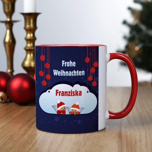 Frohe Weihnachten! Namenstasse