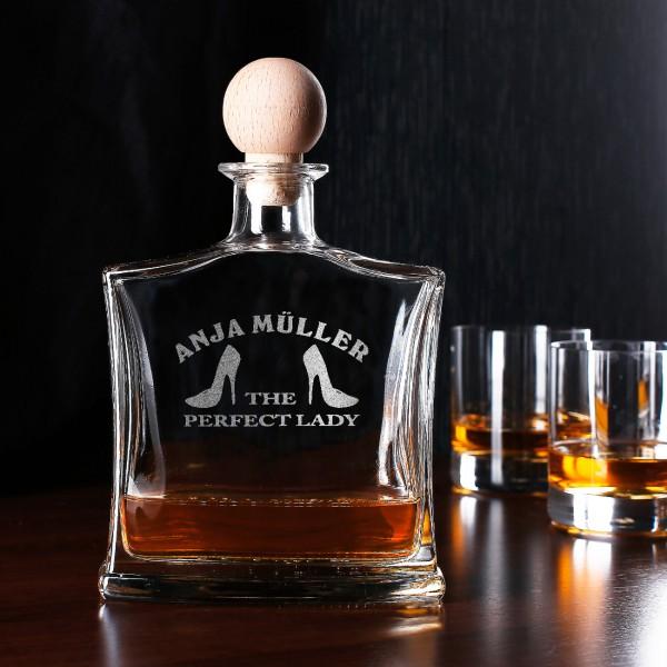 Personalisierte Whiskyflasche mit Wunschnamen
