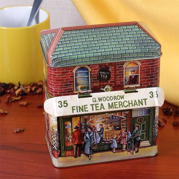 Keksdose englisches Teehaus