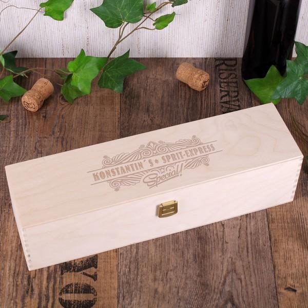 Holzbox -Sptir-Express-