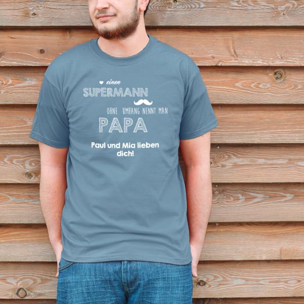 T Shirt für super Papas zum Vatertag