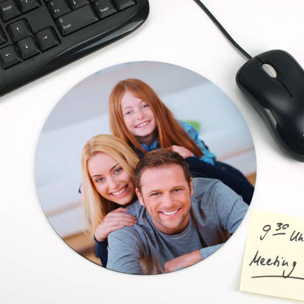 Rundes Mousepad