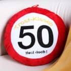 Trost-Kissen zum 50. Geburtstag