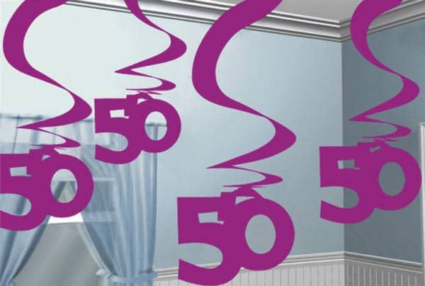 Dekoration Zum 50 Geburtstag