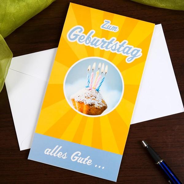 Maxi Pop-up-Karte zum Geburtstag von uns allen