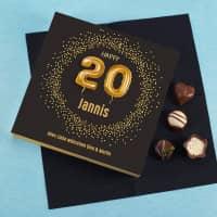 Happy 20 - Lindt Pralinen zum 20. Geburtstag, 100g