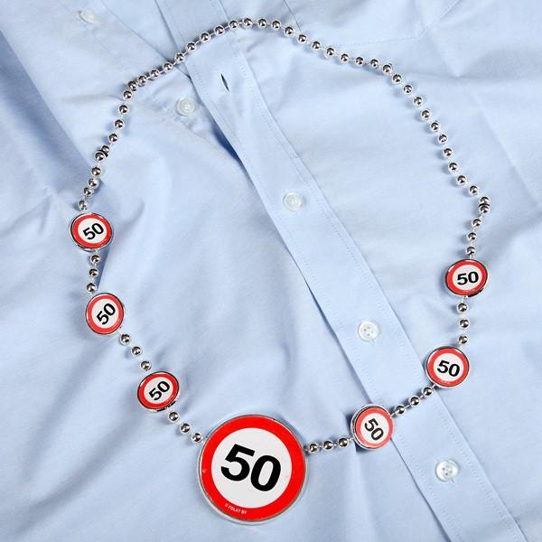 Partykette zum 50. Geburtstag