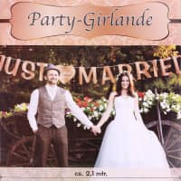 Party Girlande - Just Married