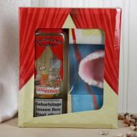witziges Geschenkset mit Verjüngungsduschgel und Seife