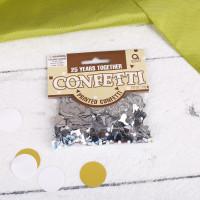Konfetti zur Silberhochzeit