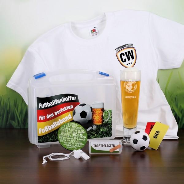 Individuellbekleidung - Fanset zur Europameisterschaft für Männer - Onlineshop Geschenke online.de