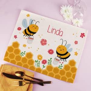 Bienchen Platzdeckchen