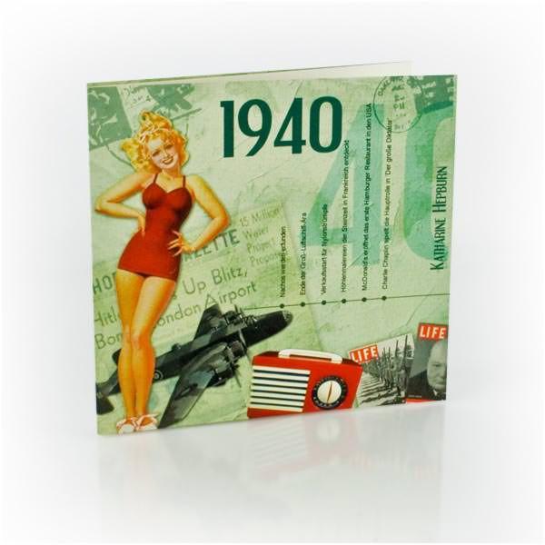 20 Original Chart Hits aus dem Jahr 1940