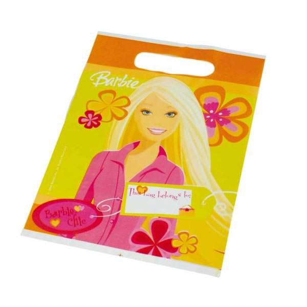 6 Geschenktaschen Barbie Chic