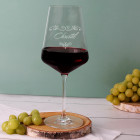 Personalisiertes Rotweinglas von Leonardo