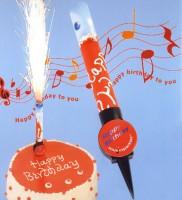 musicsparkler- die besondere Geburtstagskerze