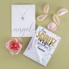 Ein Schutzengel nur für Dich! - versilberte Halskette mit Engel-Anhänger in Geschenkverpackung