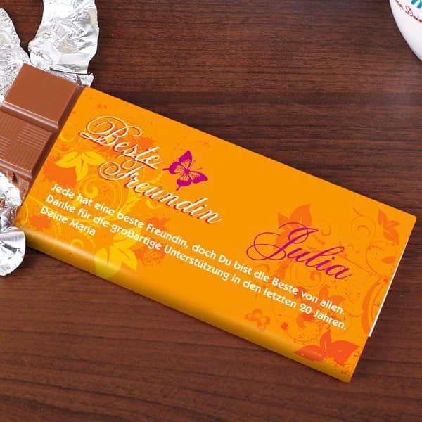 Svhokolade für die beste Freundin