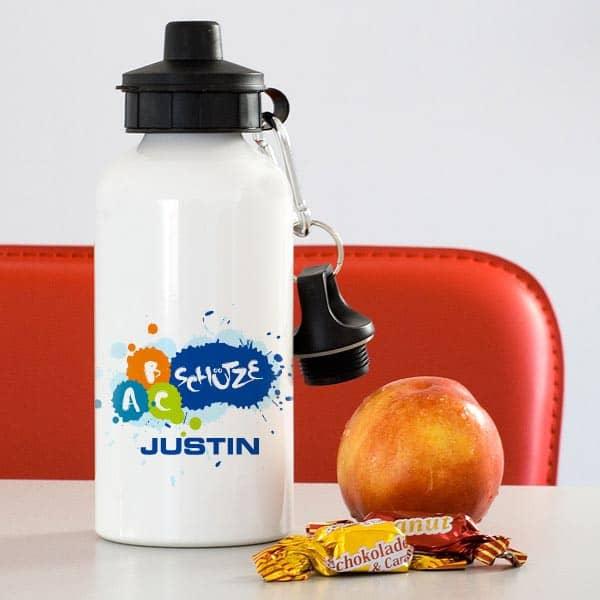 Trinkflasche - ABC-Schütze
